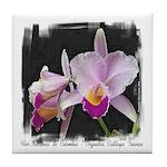 Orquidea Cattleya Trianae Tile Coaster
