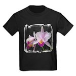 Orquidea Cattleya Trianae Kids Dark T-Shirt