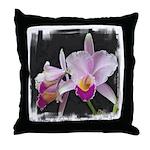 Orquidea Cattleya Trianae Throw Pillow