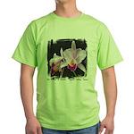 Orquidea Cattleya Trianae Green T-Shirt