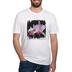 Orquidea Cattleya Trianae Fitted T-Shirt