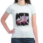 Orquidea Cattleya Trianae Jr. Ringer T-Shirt