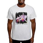 Orquidea Cattleya Trianae Light T-Shirt