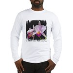 Orquidea Cattleya Trianae Long Sleeve T-Shirt