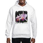 Orquidea Cattleya Trianae Hooded Sweatshirt