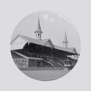 Churchill Downs, 1901 Round Ornament