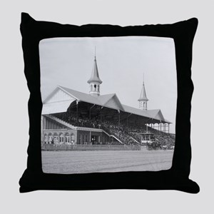 Churchill Downs, 1901 Throw Pillow