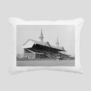 Churchill Downs, 1901 Rectangular Canvas Pillow