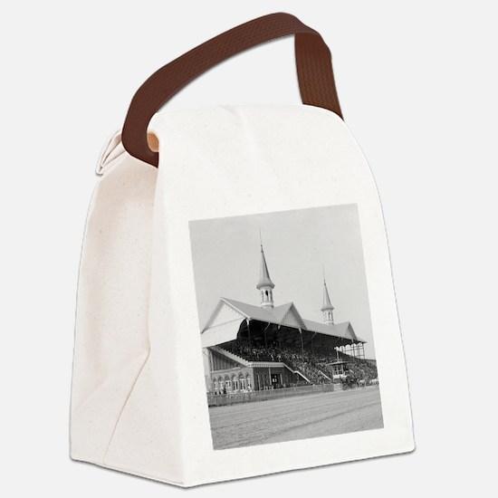 Churchill Downs, 1901 Canvas Lunch Bag