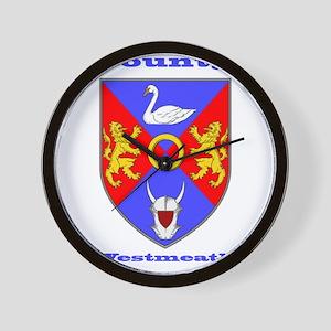 County Westmeath COA Wall Clock