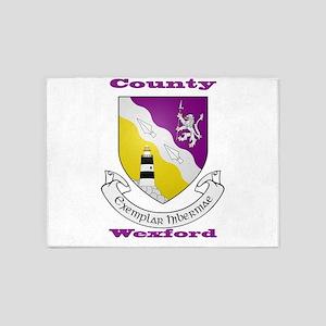 County Wexford COA 5'x7'Area Rug