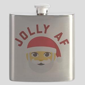 Emoji Jolly AF Flask