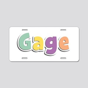 Gage Spring14 Aluminum License Plate