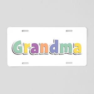 Grandma Spring14 Aluminum License Plate