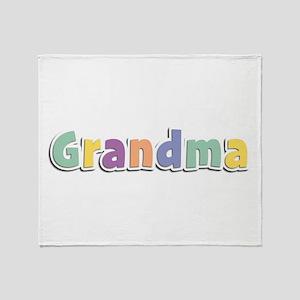 Grandma Spring14 Throw Blanket