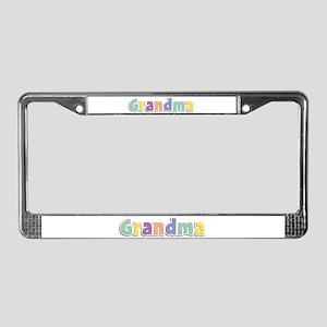 Grandma Spring14 License Plate Frame