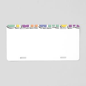 Grandmom Spring14 Aluminum License Plate