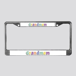 Grandmom Spring14 License Plate Frame