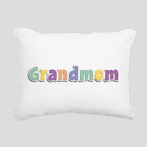 Grandmom Spring14 Rectangular Canvas Pillow