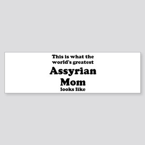 Assyrian mom Bumper Sticker
