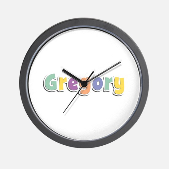 Gregory Spring14 Wall Clock