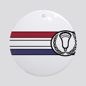 Lacrosse United 01 Ornament (Round)