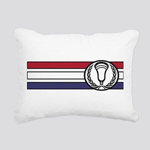 Lacrosse United 01 Rectangular Canvas Pillow