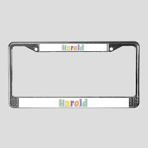 Harold Spring14 License Plate Frame
