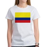 Colombian flag Women's T-Shirt