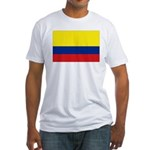 Colombian flag Fitted T-Shirt