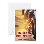 Indian Country Cover Greeting Cards