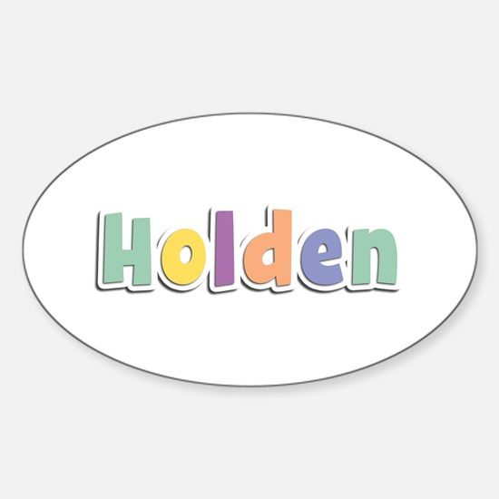 Holden Spring14 Oval Decal