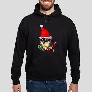 Rottweiler Puppy Christmas Sweatshirt