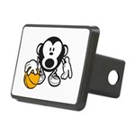 Basketball Monkey Hitch Cover