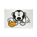 Basketball Monkey Magnets