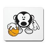 Basketball Monkey Mousepad