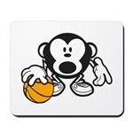 Basketball Monkey Mousepad