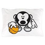 Basketball Monkey Pillow Case