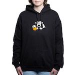 Basketball Monkey Women's Hooded Sweatshirt