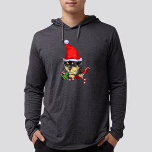 Rottweiler Puppy Christmas Long Sleeve T-Shirt