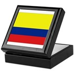 Colombian flag Keepsake Box