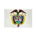Colombia COA Rectangle Magnet (10 pack)
