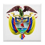 Colombia COA Tile Coaster