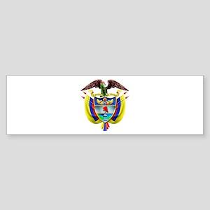 Colombia COA Bumper Sticker