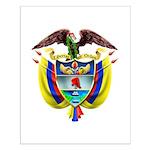 Colombia COA Small Poster