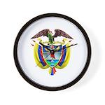 Colombia COA Wall Clock