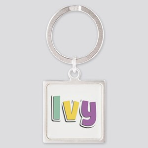 Ivy Spring14 Square Keychain