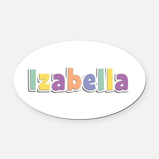 Izabella Spring14 Oval Car Magnet