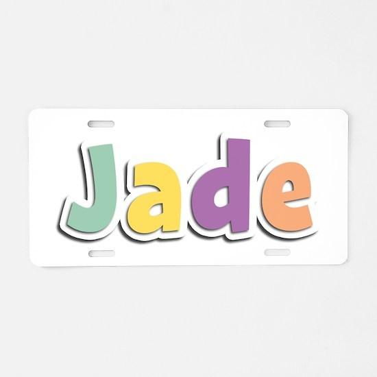 Jade Spring14 Aluminum License Plate