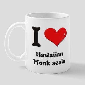 I love hawaiian monk seals  Mug
